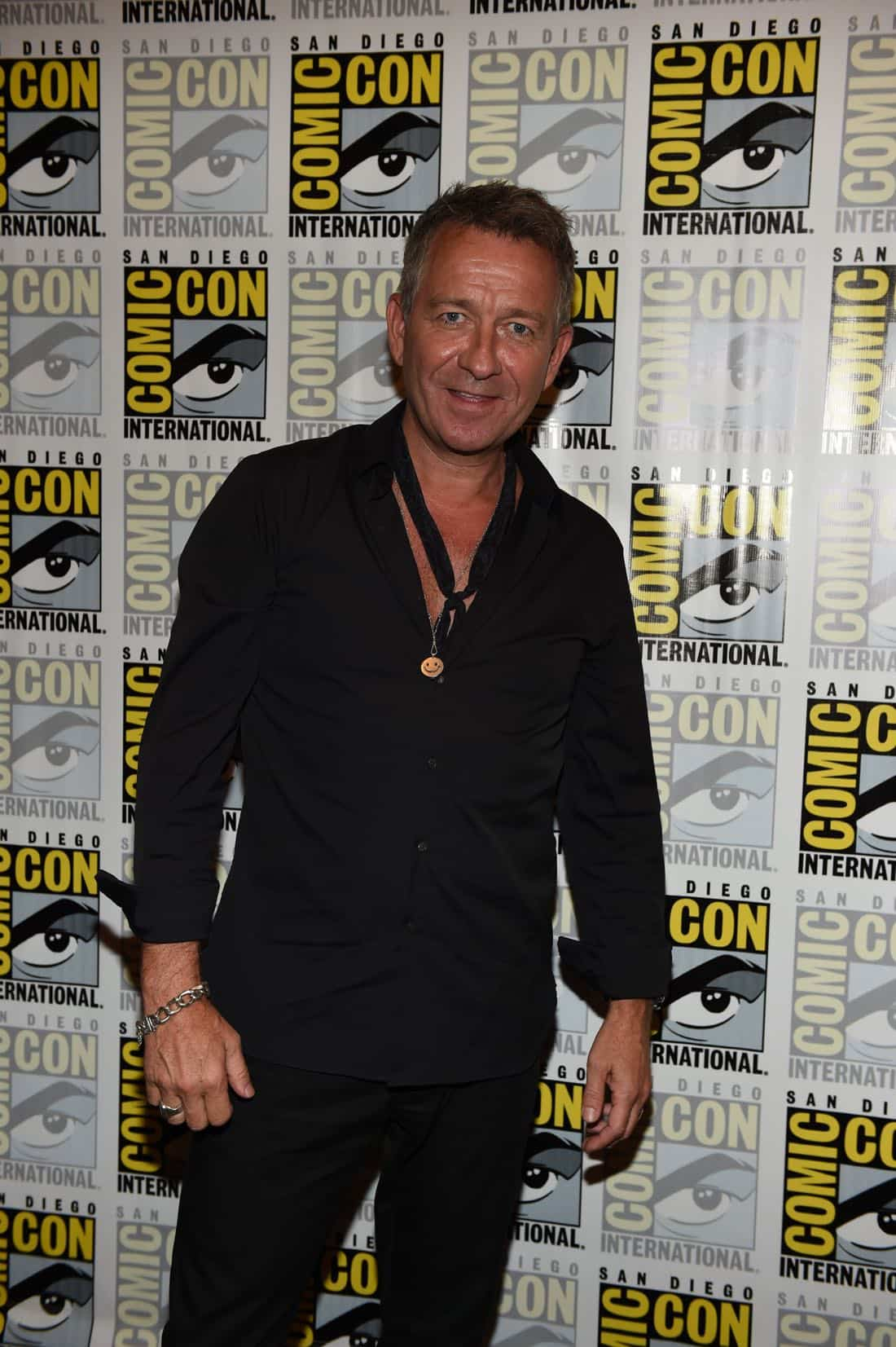 FOX FANFARE AT SAN DIEGO COMIC-CON © 2016: GOTHAM cast member Sean Pertwee during GOTHAM press room on Saturday, July 23 at the FOX FANFARE AT SAN DIEGO COMIC-CON © 2016. CR: Scott Kirkland/FOX © 2016 FOX BROADCASTING