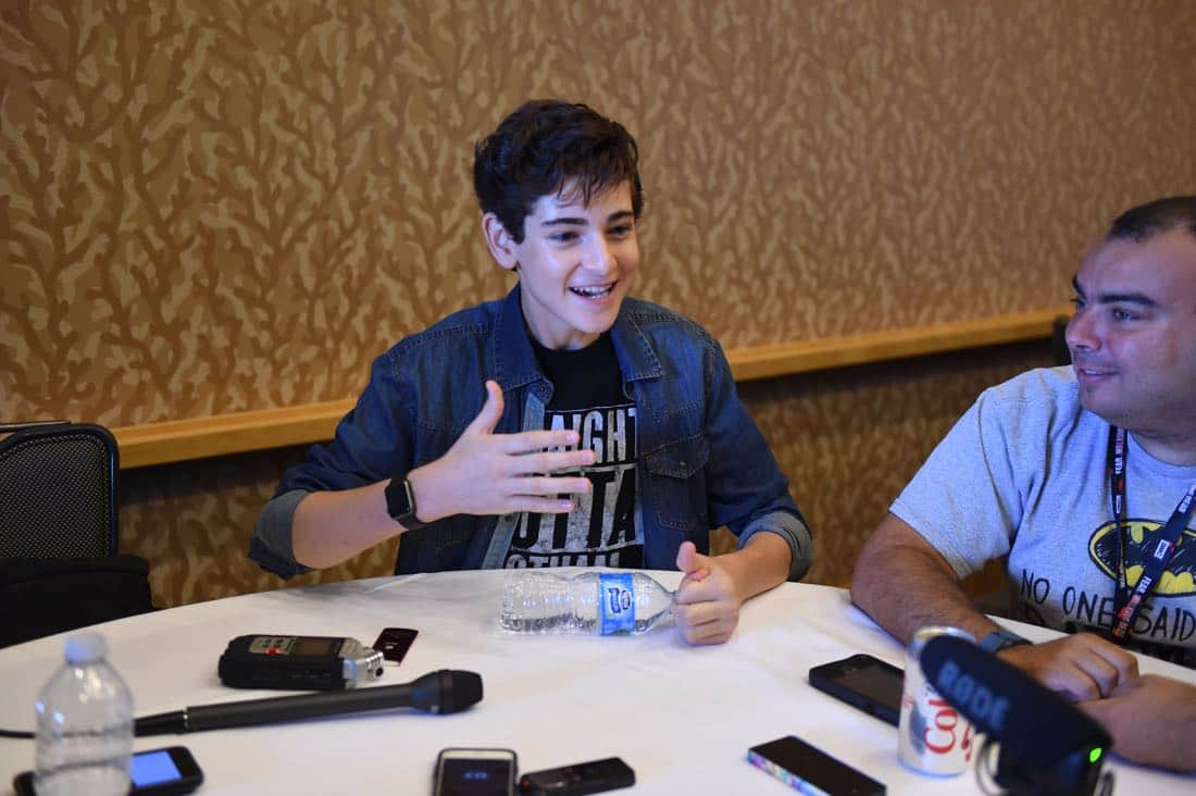 FOX FANFARE AT SAN DIEGO COMIC-CON © 2016: GOTHAM cast member David Mazouz during GOTHAM press room on Saturday, July 23 at the FOX FANFARE AT SAN DIEGO COMIC-CON © 2016. CR: Scott Kirkland/FOX © 2016 FOX BROADCASTING