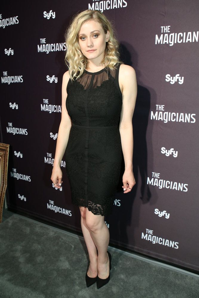 """COMIC-CON INTERNATIONAL: SAN DIEGO -- """"The Magicians Party at Hotel Solamar"""" -- Pictured: Olivia Taylor Dudley -- (Photo by: Evans Vestal Ward/Syfy)"""
