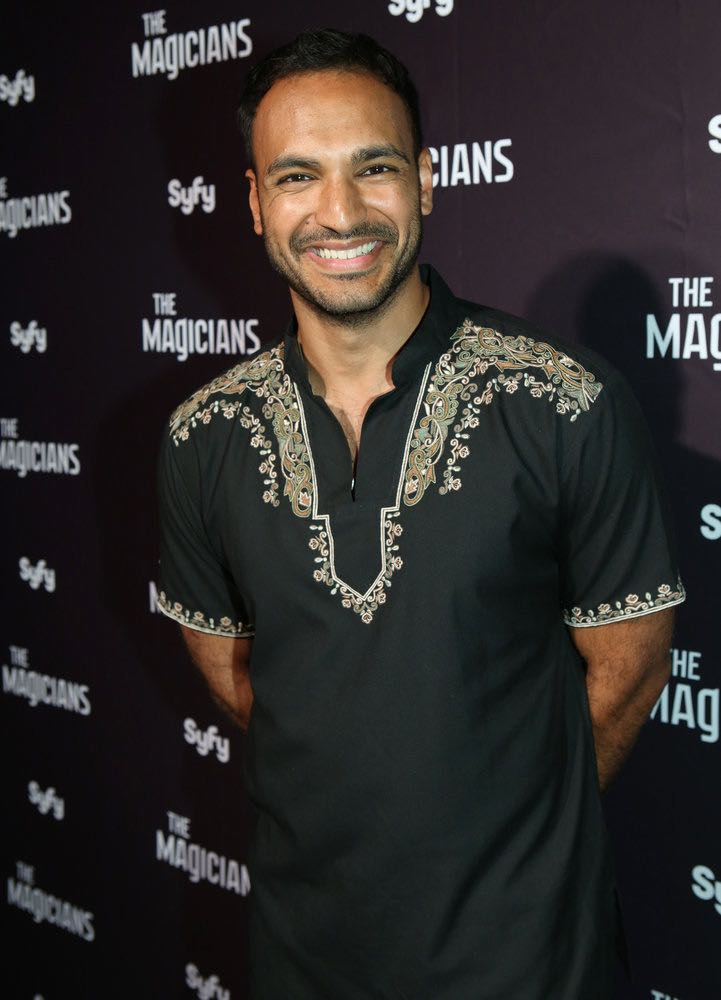 """COMIC-CON INTERNATIONAL: SAN DIEGO -- """"The Magicians Party at Hotel Solamar"""" -- Pictured: Arjun Gupta -- (Photo by: Evans Vestal Ward/Syfy)"""