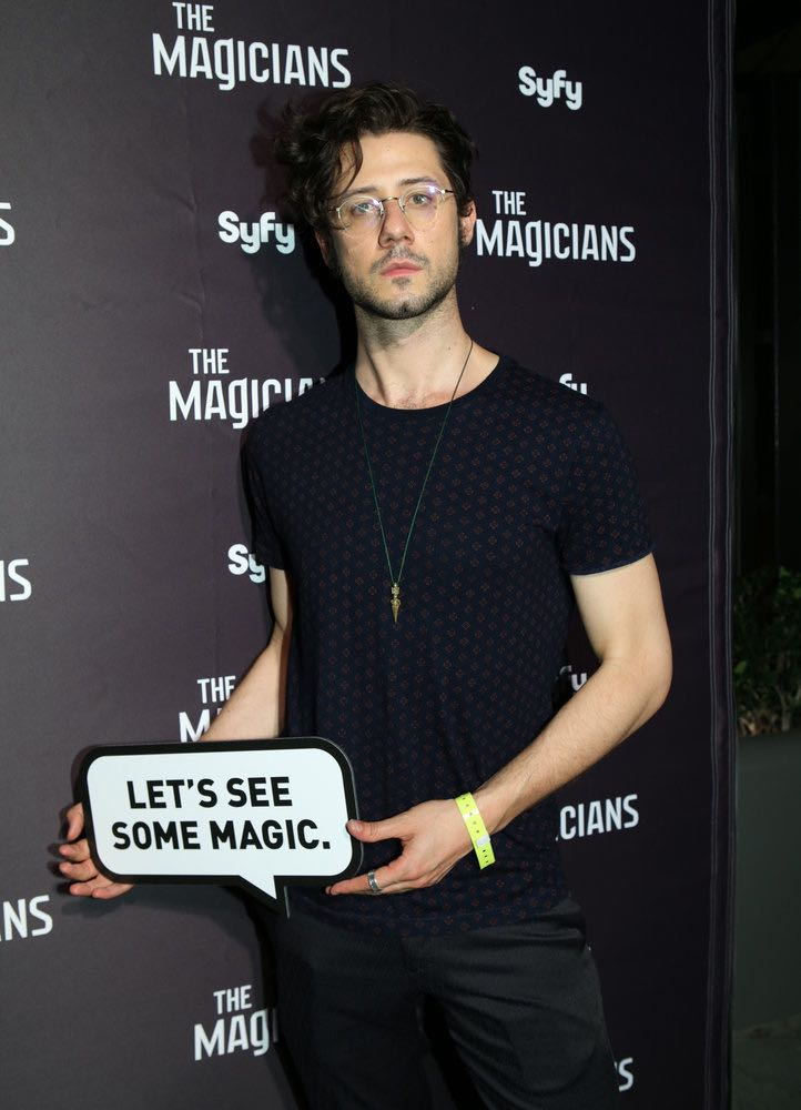 """COMIC-CON INTERNATIONAL: SAN DIEGO -- """"The Magicians Party at Hotel Solamar"""" -- Pictured: Hale Appleman -- (Photo by: Evans Vestal Ward/Syfy)"""