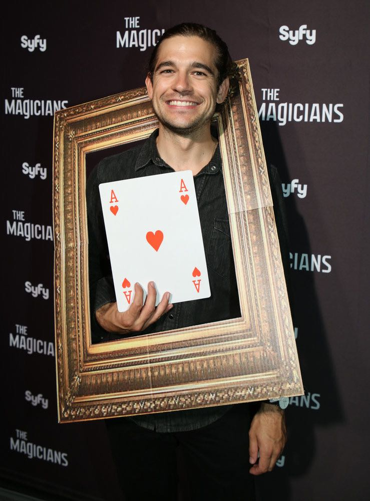 """COMIC-CON INTERNATIONAL: SAN DIEGO -- """"The Magicians Party at Hotel Solamar"""" -- Pictured: Jason Ralph -- (Photo by: Evans Vestal Ward/Syfy)"""