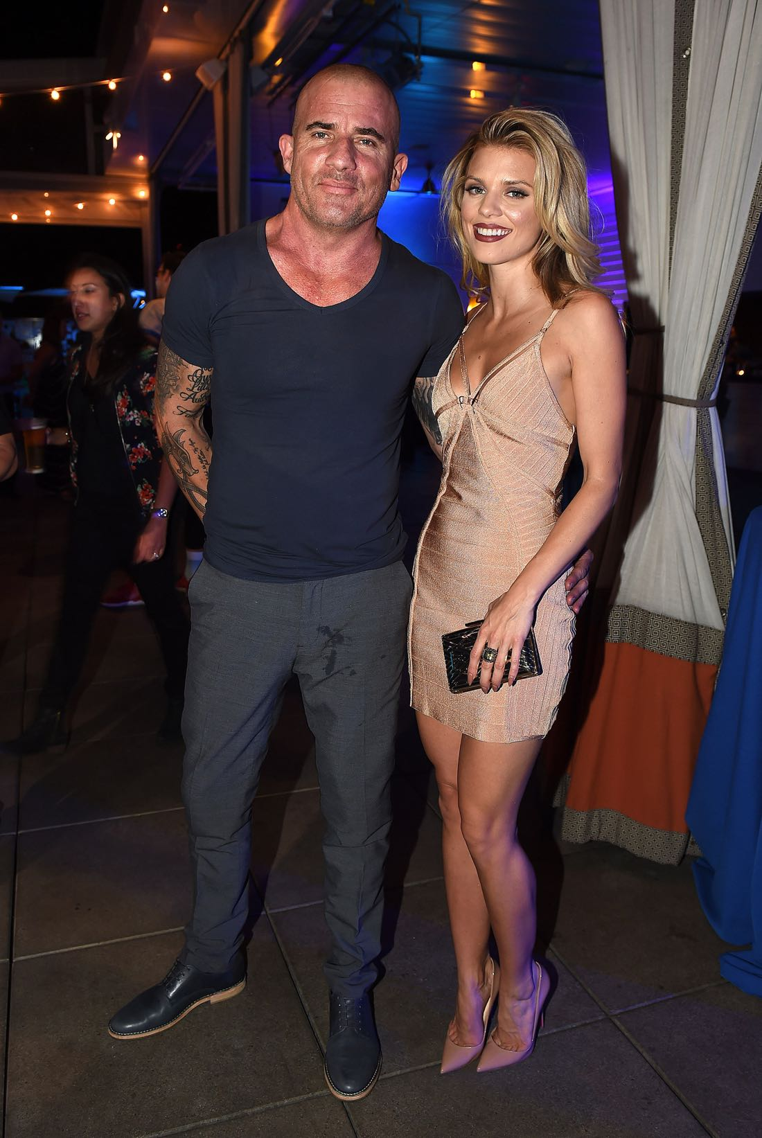 FOX FANFARE ALL-STAR COMIC CON PARTY AT SAN DIEGO COMIC-CON © 2016: AnnaLynne McCord and Dominic Purcell attend the FOX FANFARE ALL-STAR COMIC CON PARTY AT SAN DIEGO COMIC-CON © 2016 on Friday, July 22 at the Andaz Hotel in San Diego, CA. CR: Frank Micelotta/FOX © 2016 FOX BROADCASTING