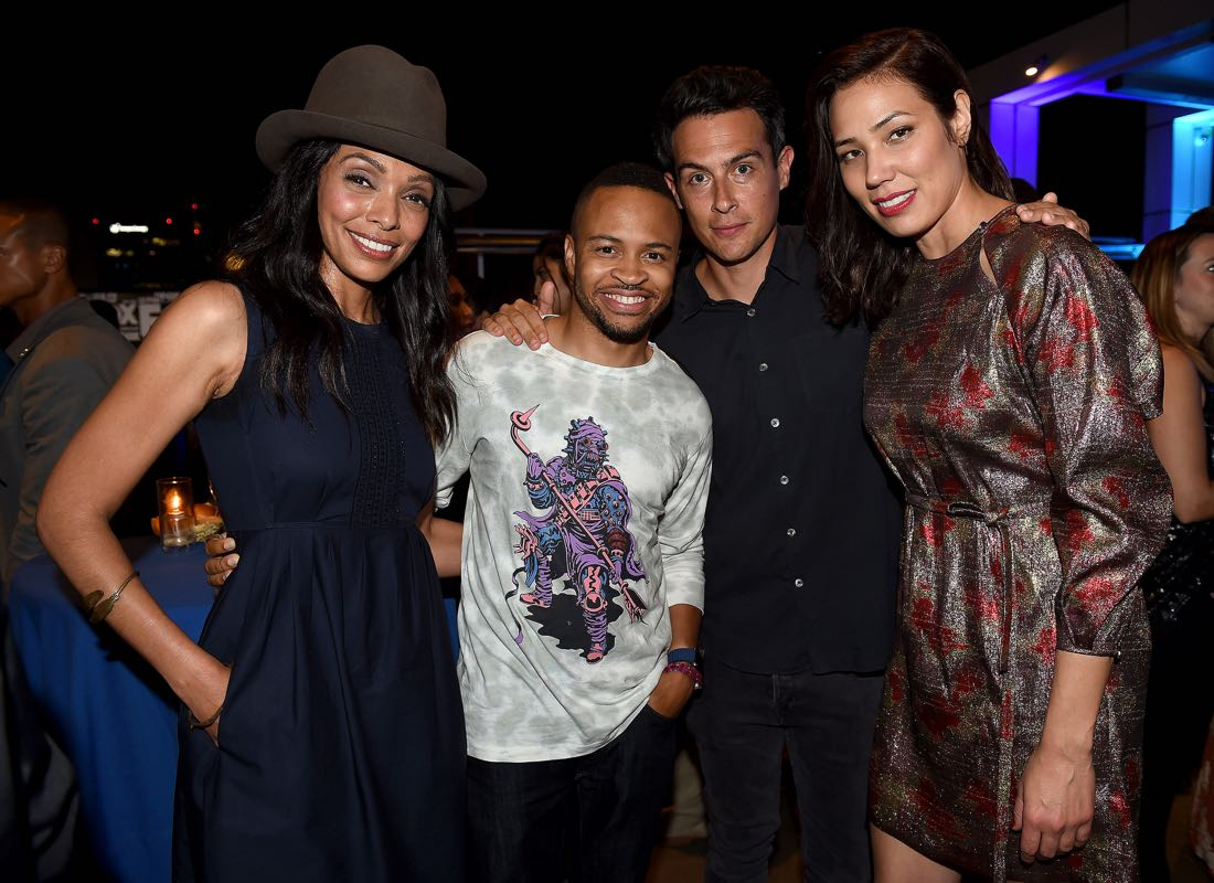 FOX FANFARE ALL-STAR COMIC CON PARTY AT SAN DIEGO COMIC-CON © 2016: Tamara Taylor, Eugene Byrd, John Boyd, and Michaela Conlin attend the FOX FANFARE ALL-STAR COMIC CON PARTY AT SAN DIEGO COMIC-CON © 2016 on Friday, July 22 at the Andaz Hotel in San Diego, CA. CR: Frank Micelotta/FOX © 2016 FOX BROADCASTING