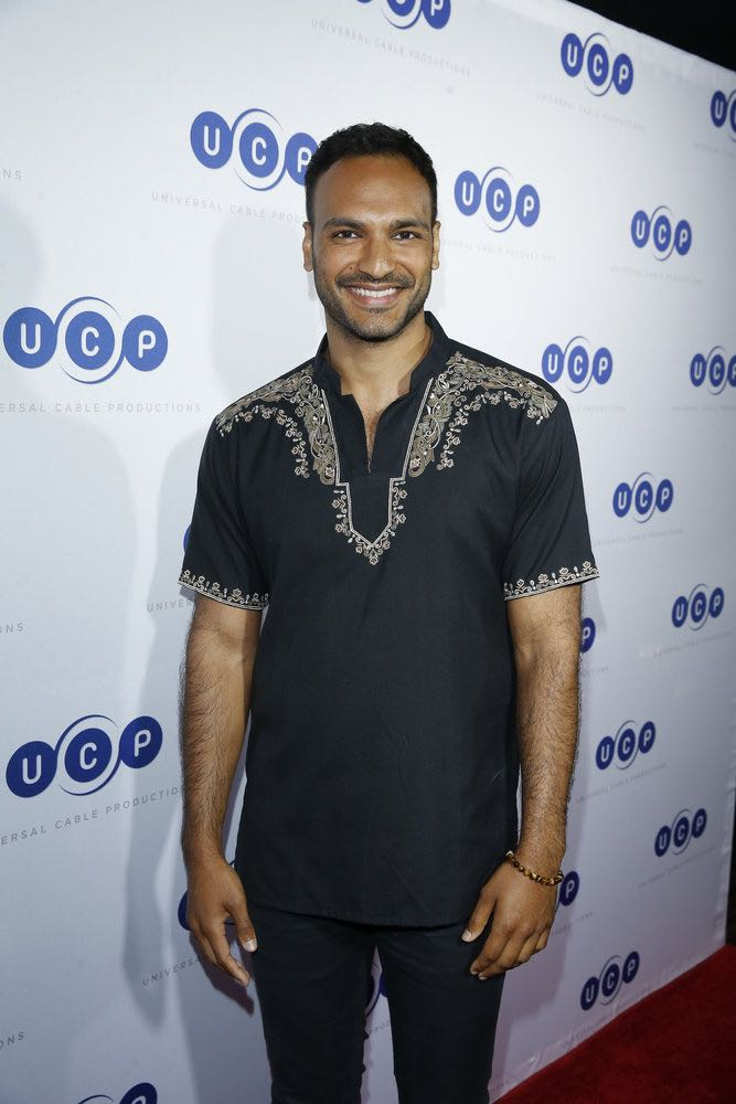 """COMIC-CON INTERNATIONAL: SAN DIEGO -- """"UCP Party"""" -- Pictured: Arjun Gupta, """"The Magicians"""" -- (Photo by: Mark Davis/Universal Cable Productions)"""