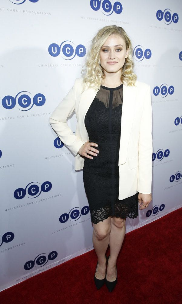 """COMIC-CON INTERNATIONAL: SAN DIEGO -- """"UCP Party"""" -- Pictured: Olivia Taylor Dudley, """"The Magicians"""" -- (Photo by: Mark Davis/Universal Cable Productions)"""