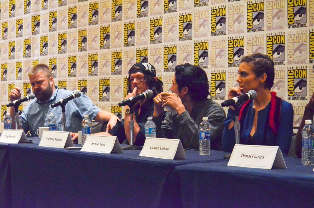 The Walking Dead San Diego Comic Con 2016-01