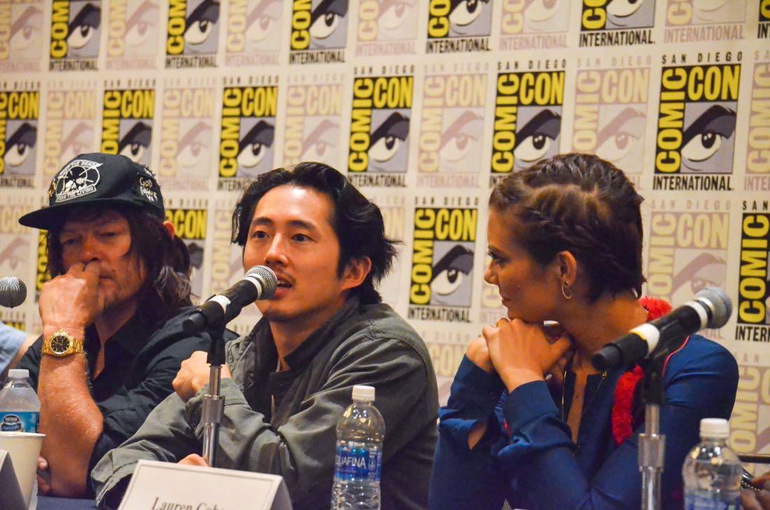 The Walking Dead San Diego Comic Con 2016-17