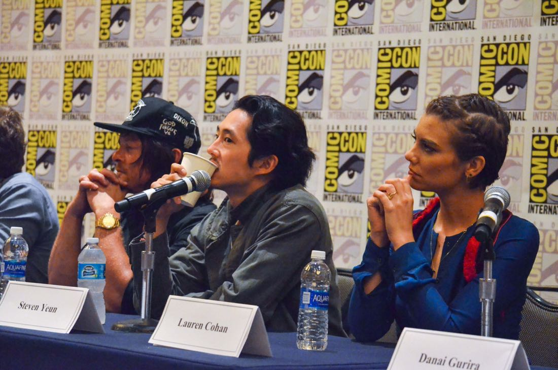 The Walking Dead San Diego Comic Con 2016-11