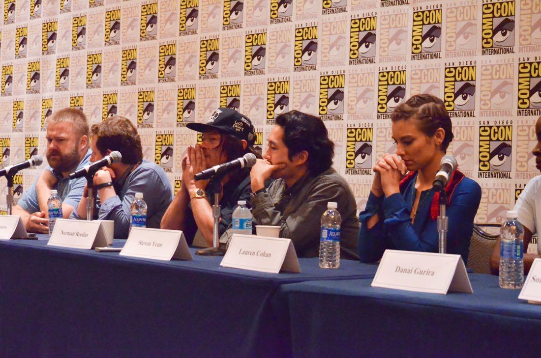 The Walking Dead San Diego Comic Con 2016-09