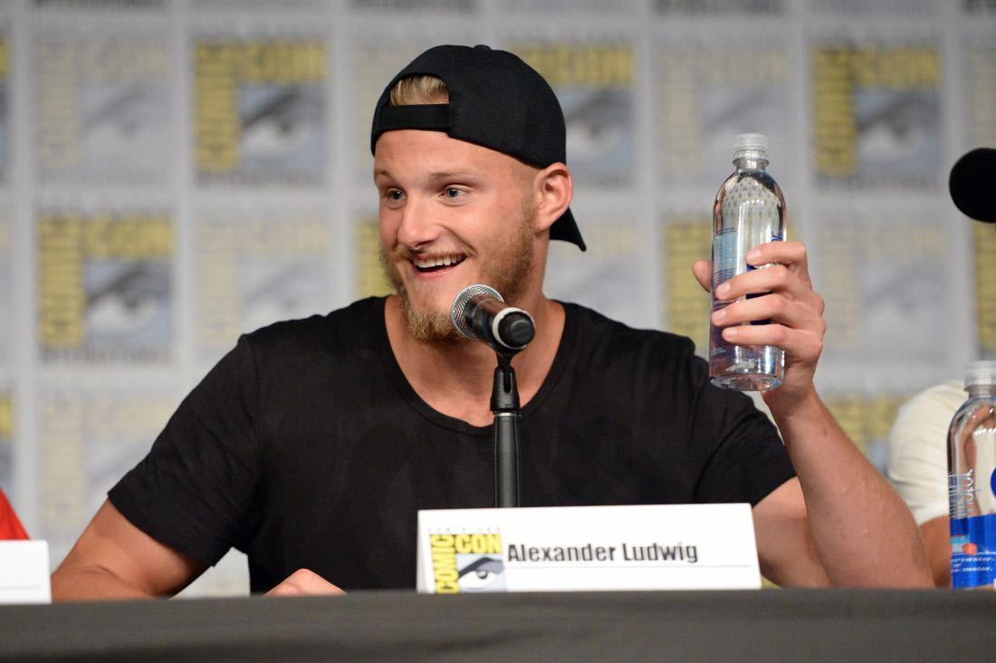 "SAN DIEGO, CA - JULY 22: Actor Alexander Ludwig attends the ""Vikings"" panel during Comic-Con International 2016 at San Diego Convention Center on July 22, 2016 in San Diego, California. (Photo by Charley Gallay/Getty Images for HISTORY )"