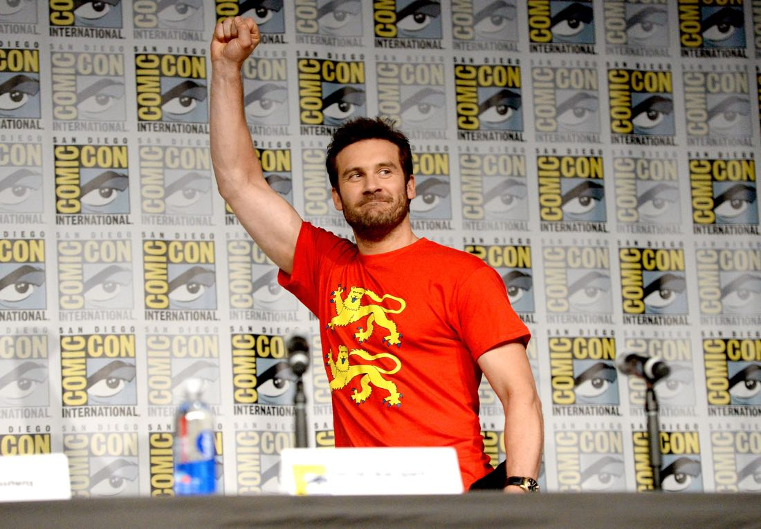 "SAN DIEGO, CA - JULY 22: Actor Clive Standen attends the ""Vikings"" panel during Comic-Con International 2016 at San Diego Convention Center on July 22, 2016 in San Diego, California. (Photo by Charley Gallay/Getty Images for HISTORY )"