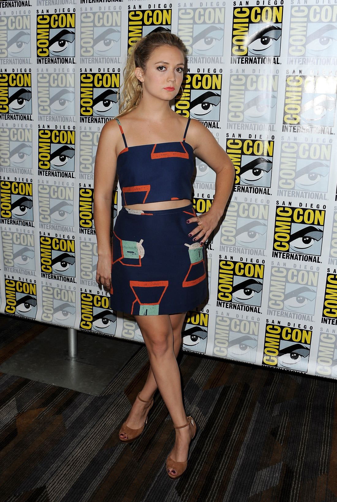 FOX FANFARE AT SAN DIEGO COMIC-CON © 2016: SCREAM QUEENS cast member Billie Lourd during the SCREAM QUEENS press room on Friday, July 22 at the FOX FANFARE AT SAN DIEGO COMIC-CON © 2016. CR: Scott Krikland/FX © 2016 FOX BROADCASTING