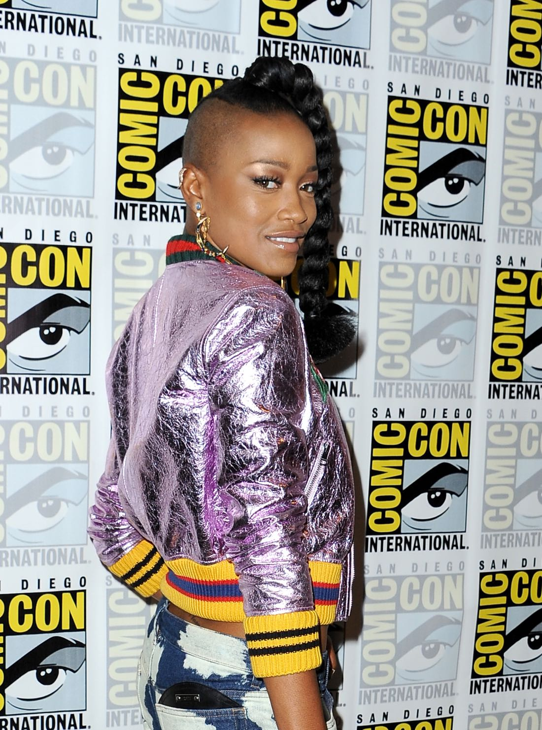 FOX FANFARE AT SAN DIEGO COMIC-CON © 2016: SCREAM QUEENS cast member Keke Palmer during the SCREAM QUEENS press room on Friday, July 22 at the FOX FANFARE AT SAN DIEGO COMIC-CON © 2016. CR: Scott Krikland/FX © 2016 FOX BROADCASTING