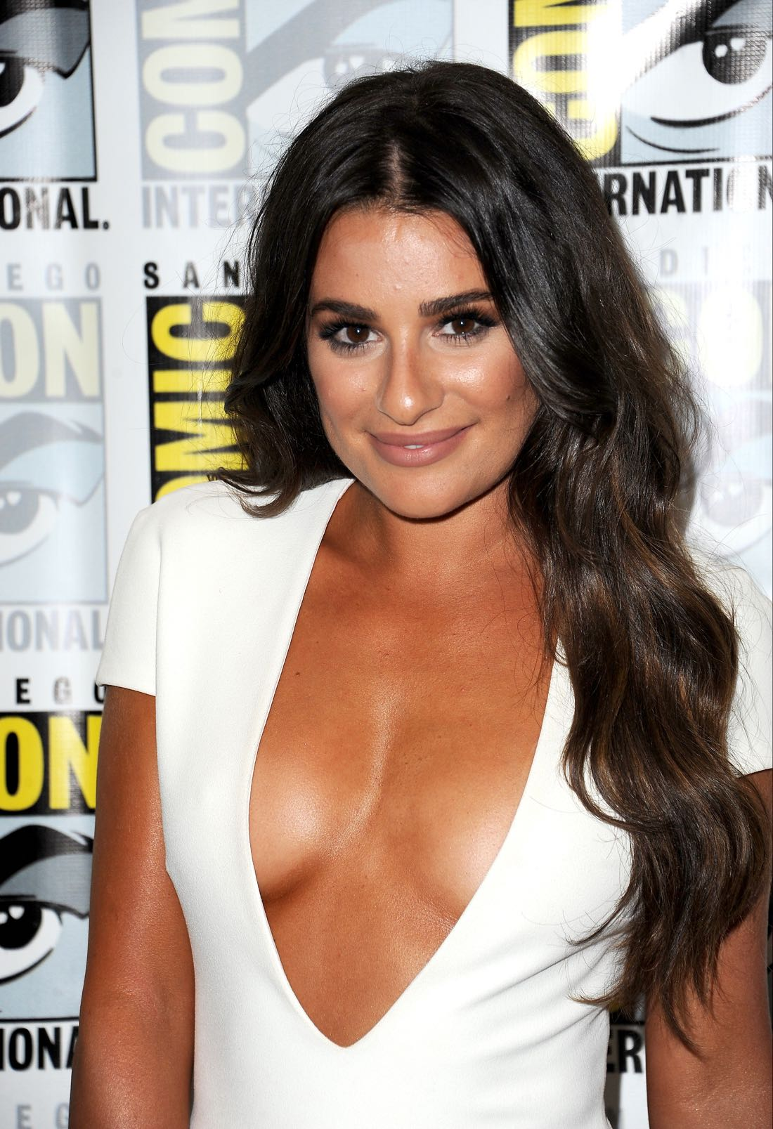 FOX FANFARE AT SAN DIEGO COMIC-CON © 2016: SCREAM QUEENS cast member Lea Michele during the SCREAM QUEENS press room on Friday, July 22 at the FOX FANFARE AT SAN DIEGO COMIC-CON © 2016. CR: Scott Krikland/FX © 2016 FOX BROADCASTING