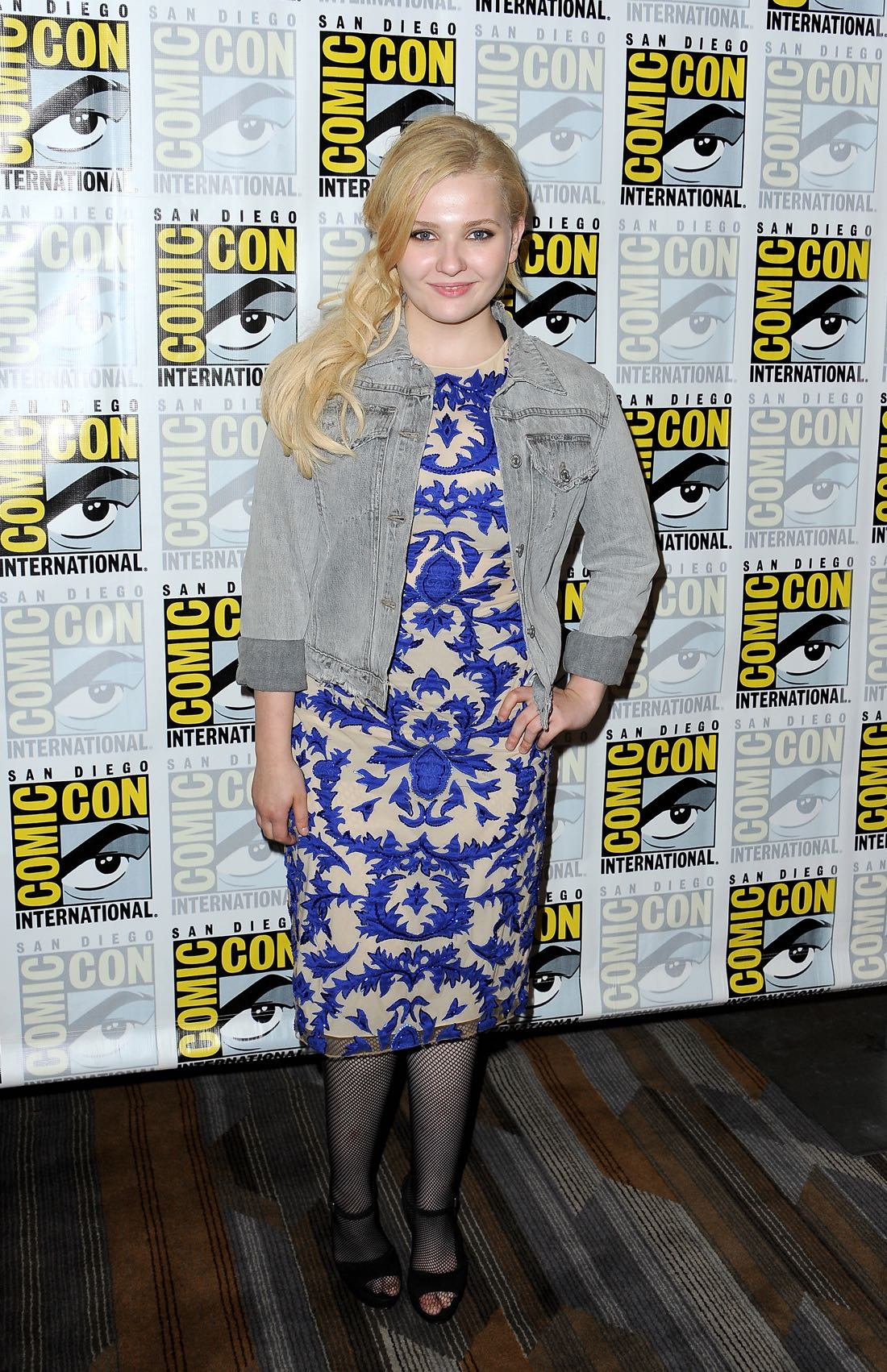 FOX FANFARE AT SAN DIEGO COMIC-CON © 2016: SCREAM QUEENS cast member Abigail Breslin during the SCREAM QUEENS press room on Friday, July 22 at the FOX FANFARE AT SAN DIEGO COMIC-CON © 2016. CR: Scott Krikland/FX © 2016 FOX BROADCASTING