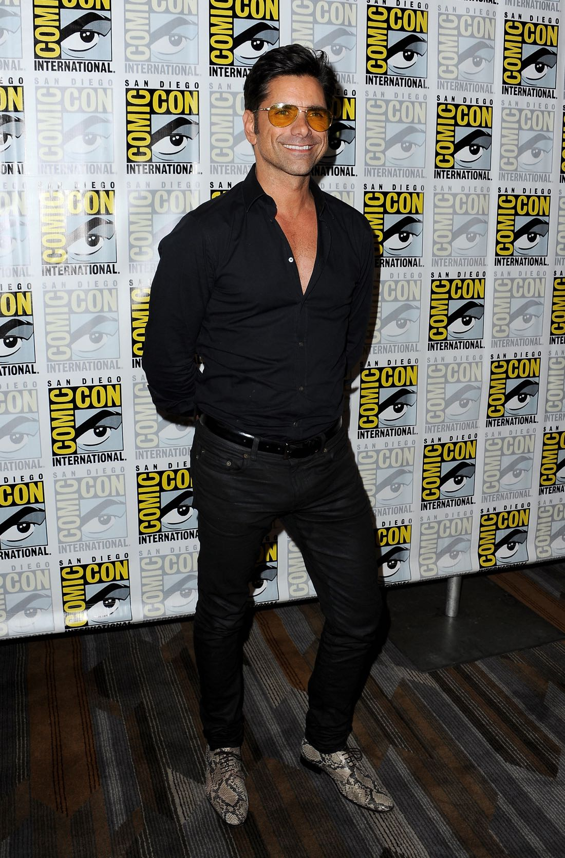 FOX FANFARE AT SAN DIEGO COMIC-CON © 2016: SCREAM QUEENS cast member John Stamos during the SCREAM QUEENS press room on Friday, July 22 at the FOX FANFARE AT SAN DIEGO COMIC-CON © 2016. CR: Scott Krikland/FX © 2016 FOX BROADCASTING
