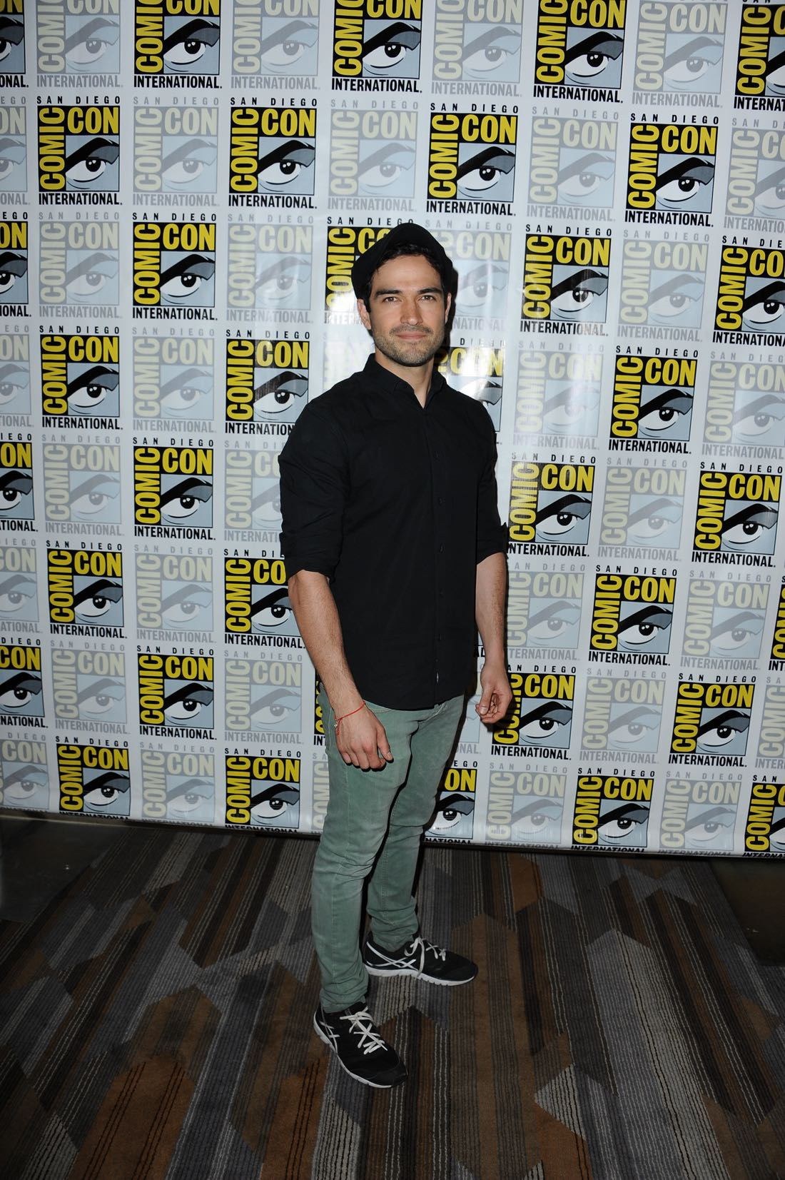 FOX FANFARE AT SAN DIEGO COMIC-CON © 2016: THE EXORCIST cast member Alfonso Herrera during THE EXORCIST press room on Friday, July 22 at the FOX FANFARE AT SAN DIEGO COMIC-CON © 2016. CR: Scott Kirkland/FOX © 2016 FOX BROADCASTING