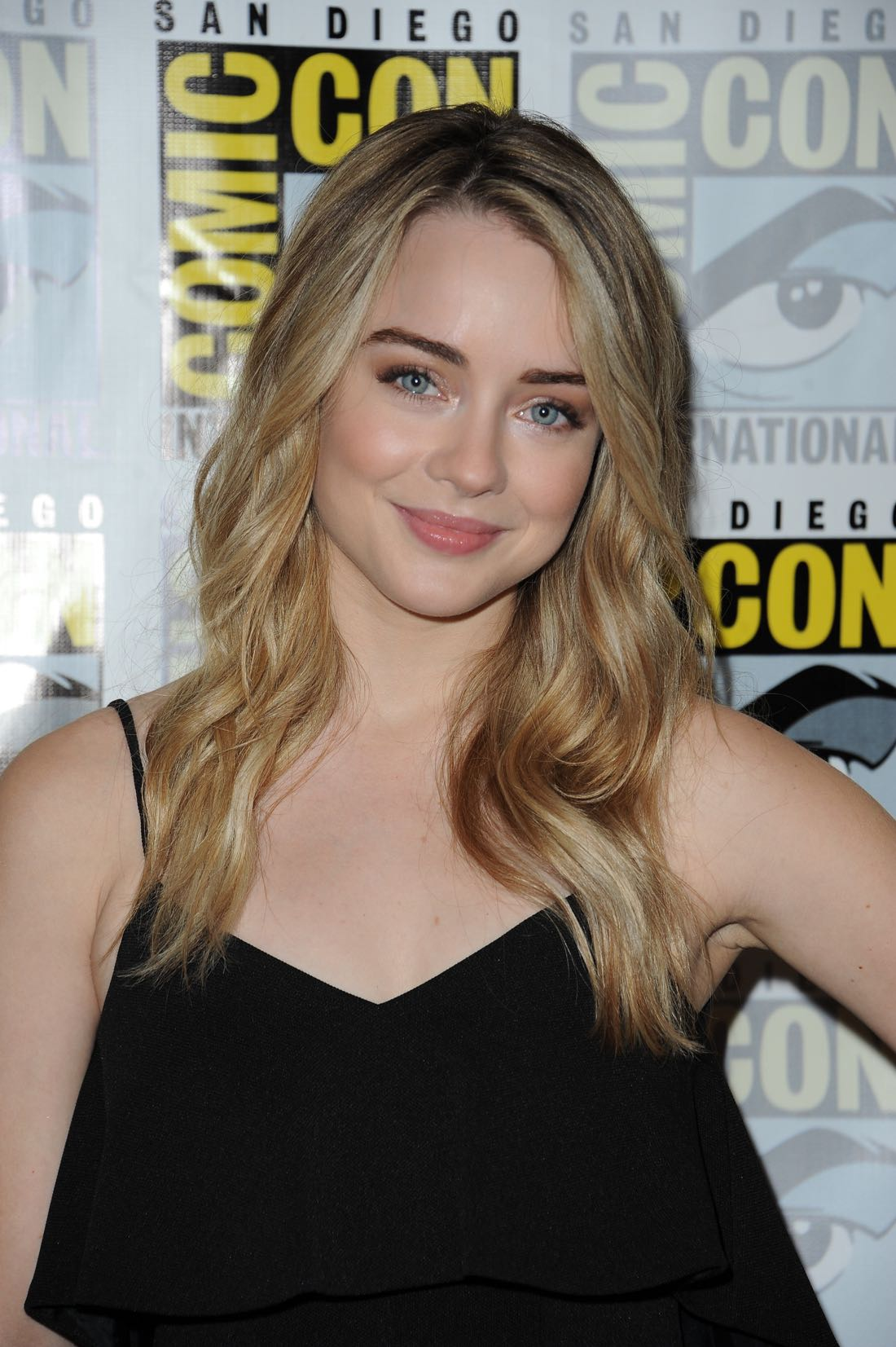 FOX FANFARE AT SAN DIEGO COMIC-CON © 2016: THE EXORCIST cast member Hannah Kasulka during THE EXORCIST press room on Friday, July 22 at the FOX FANFARE AT SAN DIEGO COMIC-CON © 2016. CR: Scott Kirkland/FOX © 2016 FOX BROADCASTING