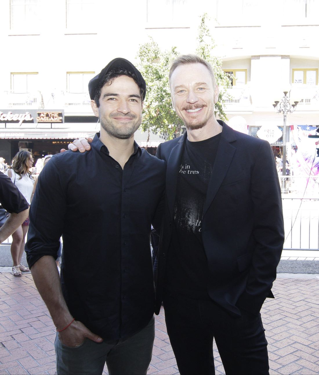 FOX FANFARE AT SAN DIEGO COMIC-CON © 2016: (L-R) THE EXORCIST cast members Alfonso Herrera and and Ben Daniels and fans during surprise exorcism performed on Friday, July 22 at the FOX FANFARE AT SAN DIEGO COMIC-CON © 2016. CR: Frank Micelotta/FOX © 2016 FOX BROADCASTING