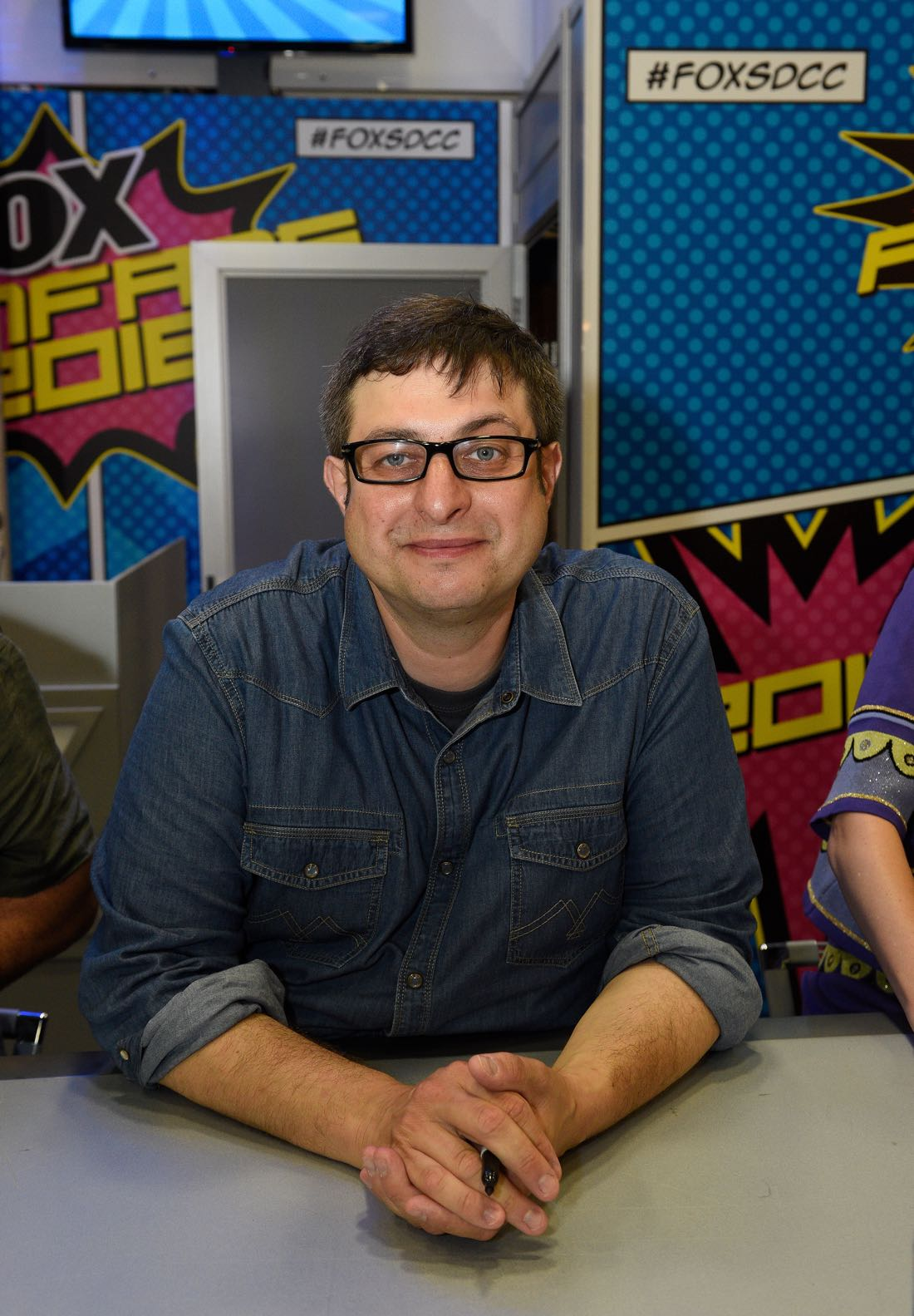 FOX FANFARE AT SAN DIEGO COMIC-CON © 2016: BOB'S BURGERS cast member Eugene Mirman during BOB'S BURGERS booth signing on Friday, July 22 at the FOX FANFARE AT SAN DIEGO COMIC-CON © 2016. CR: Alan Hess/FOX © 2016 FOX BROADCASTING