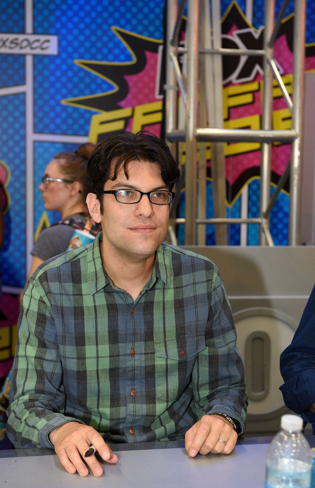 FOX FANFARE AT SAN DIEGO COMIC-CON © 2016: BOB'S BURGERS cast member Dan Mintz during BOB'S BURGERS booth signing on Friday, July 22 at the FOX FANFARE AT SAN DIEGO COMIC-CON © 2016. CR: Alan Hess/FOX © 2016 FOX BROADCASTING