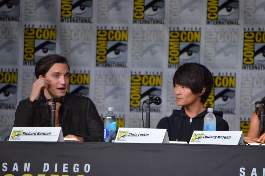 The 100 Panel San Diego Comic Con 2016-11