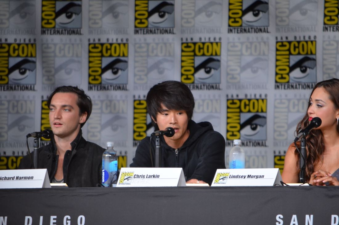 The 100 Panel San Diego Comic Con 2016-09