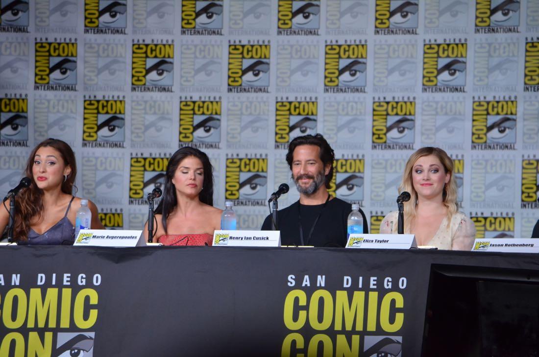 The 100 Panel San Diego Comic Con 2016-07