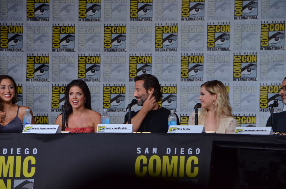 The 100 Panel San Diego Comic Con 2016-06