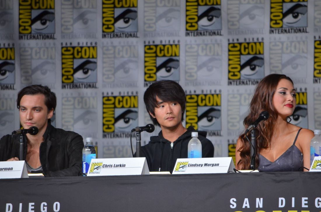 The 100 Panel San Diego Comic Con 2016-04