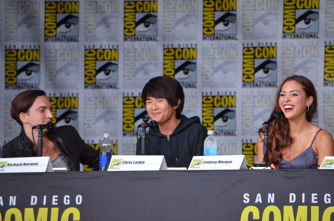 The 100 Panel San Diego Comic Con 2016-21