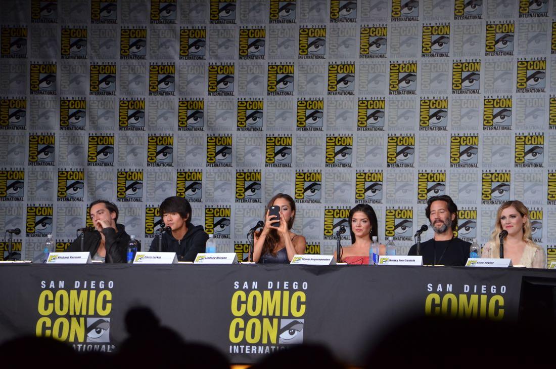 The 100 Panel San Diego Comic Con 2016-20