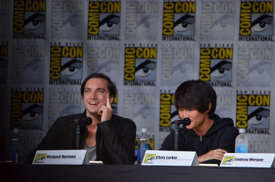 The 100 Panel San Diego Comic Con 2016-18