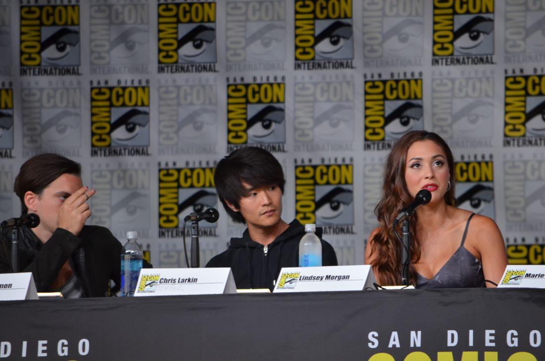 The 100 Panel San Diego Comic Con 2016-15