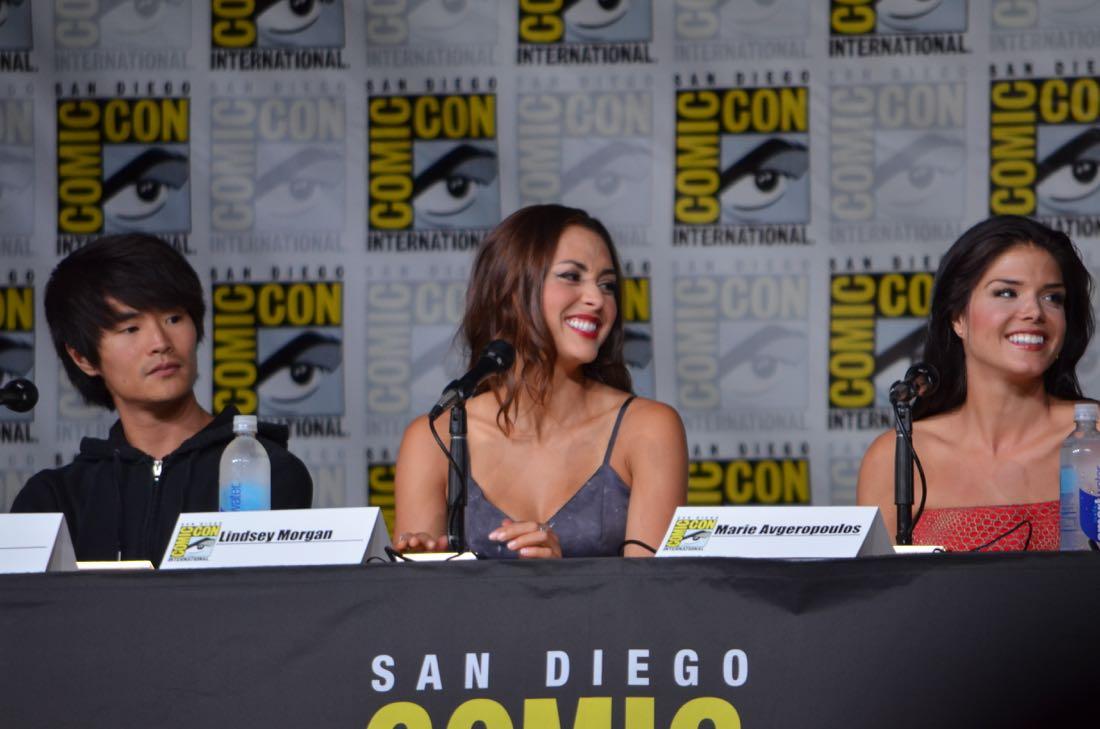 The 100 Panel San Diego Comic Con 2016-14