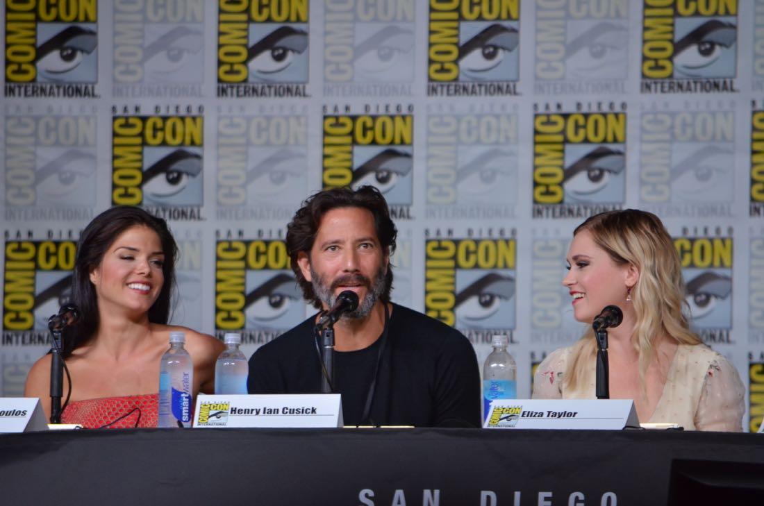 The 100 Panel San Diego Comic Con 2016-13