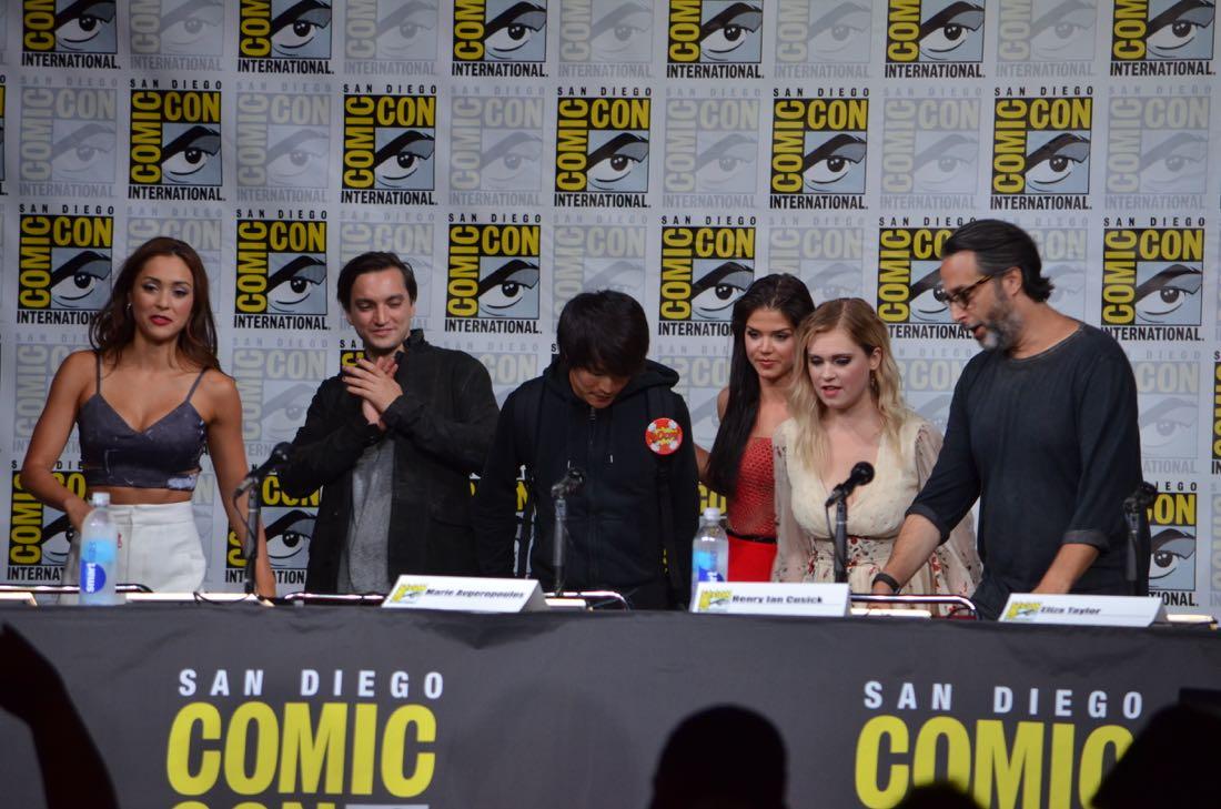 The 100 Panel San Diego Comic Con 2016-28