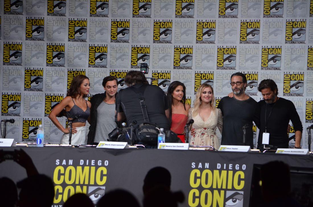 The 100 Panel San Diego Comic Con 2016-26