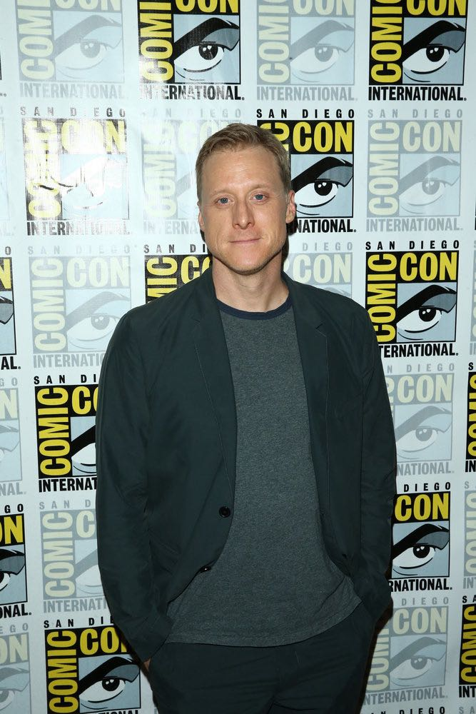 "COMIC-CON INTERNATIONAL: SAN DIEGO 2016 -- ""Powerless Press Room and Carpet"" -- Pictured: Alan Tudyk -- (Photo by: Mark Davis/NBC)"