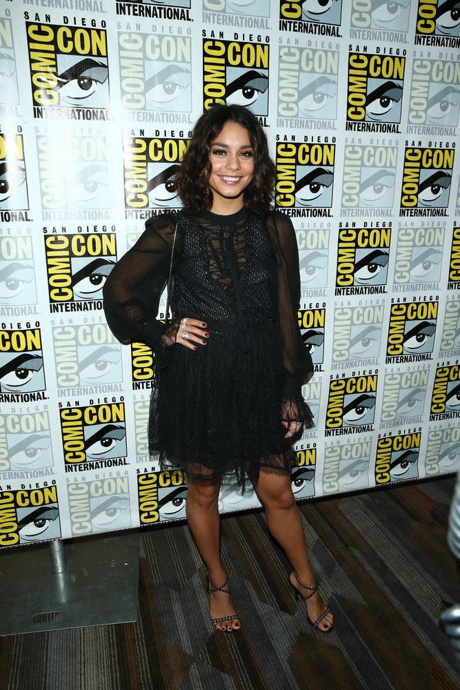 "COMIC-CON INTERNATIONAL: SAN DIEGO 2016 -- ""Powerless Press Room and Carpet"" -- Pictured: Vanessa Hudgens -- (Photo by: Mark Davis/NBC)"