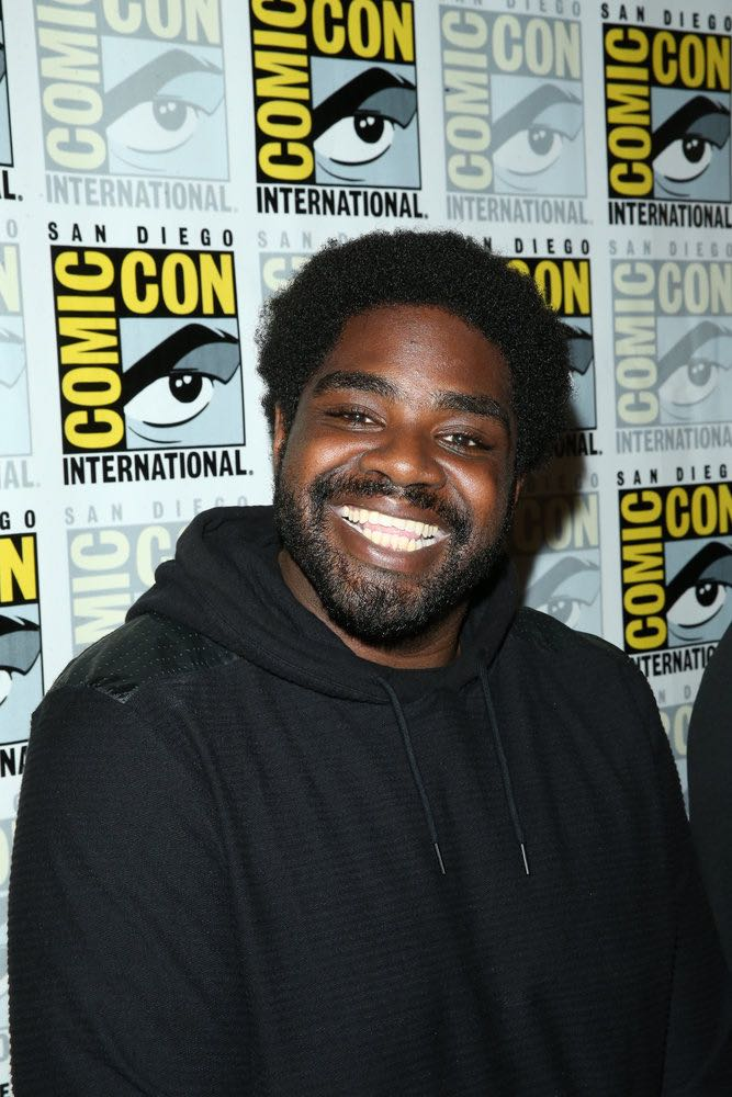 "COMIC-CON INTERNATIONAL: SAN DIEGO 2016 -- ""Powerless Press Room and Carpet"" -- Pictured: Ron Funches -- (Photo by: Mark Davis/NBC)"