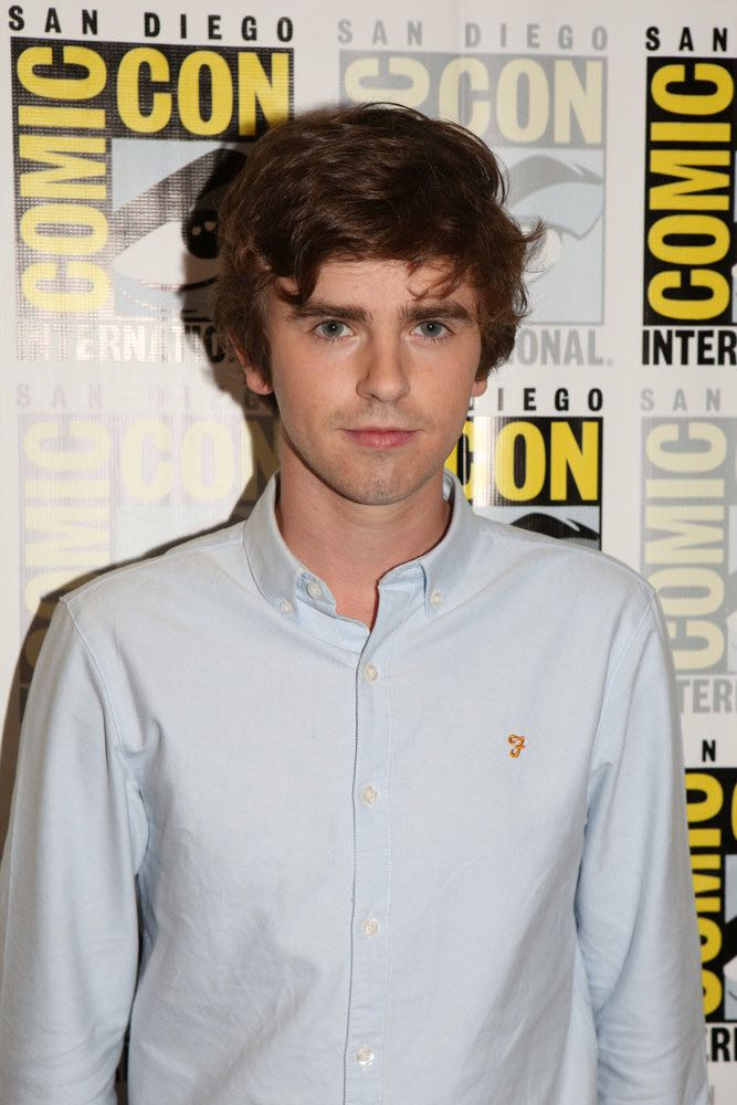 """COMIC-CON INTERNATIONAL: SAN DIEGO 2016 -- """"Bates Motel"""" Red Carpet -- Pictured: Freddie Highmore, Friday, July 22, 2016, from the Hilton Bayfront, San Diego, Calif. -- (Photo by: Evans Vestal Ward/Universal Television)"""
