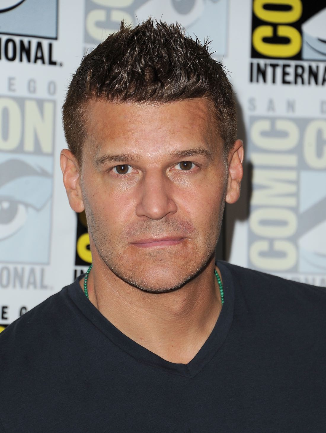 FOX FANFARE AT SAN DIEGO COMIC-CON © 2016: BONES cast member David Boreanaz during the BONES press room on Friday, July 22 at the FOX FANFARE AT SAN DIEGO COMIC-CON © 2016. CR: Scott Kirkland/FOX © 2016 FOX BROADCASTING