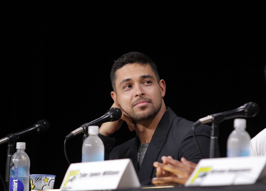 Wilmer Valderrama of NCIS during the CBS Fan Favorites panel discussion moderated by Kevin Frazier at COMIC-CON® 2016 in San Diego, California. Photo: Francis Specker/CBS ©2016 CBS Broadcasting, Inc. All Rights Reserved