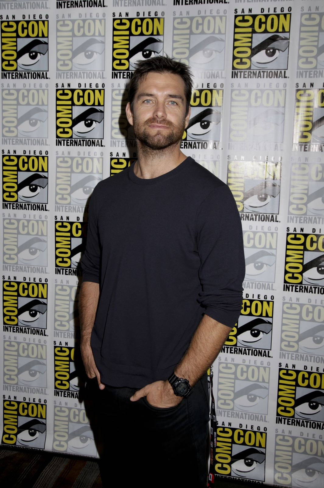 Antony Starr of American Gothic at COMIC-CON® 2016 in San Diego, California. Photo: Francis Specker/CBS ©2016 CBS Broadcasting, Inc. All Rights Reserved