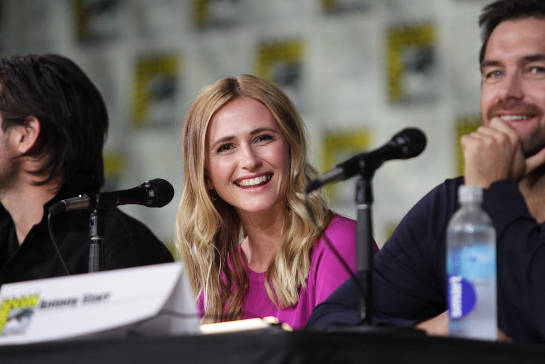 Megan Ketch of the CBS series AMERICAN GOTHIC during the panel discussion at COMIC-CON® 2016 in San Diego, California. Photo: Francis Specker/CBS ©2016 CBS Broadcasting, Inc. All Rights Reserved
