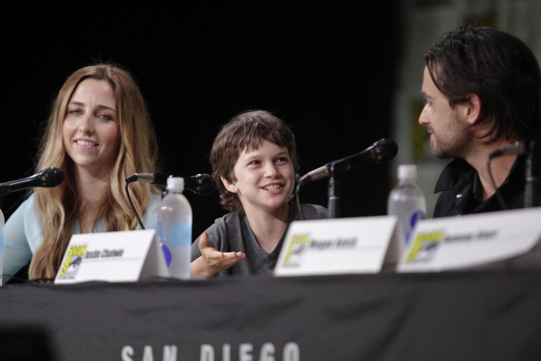 Gabriel Bateman of the CBS series AMERICAN GOTHIC during the panel discussion at COMIC-CON® 2016 in San Diego, California. Photo: Francis Specker/CBS ©2016 CBS Broadcasting, Inc. All Rights Reserved