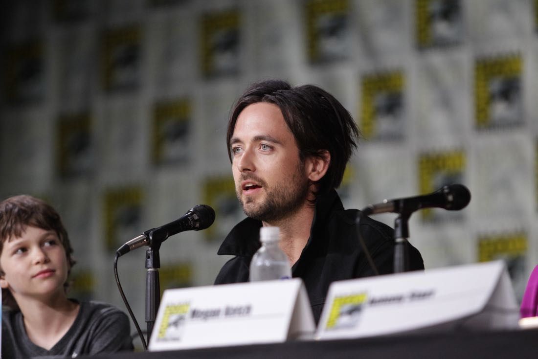 Justin Chatwin of the CBS series AMERICAN GOTHIC during the panel discussion at COMIC-CON® 2016 in San Diego, California. Photo: Francis Specker/CBS ©2016 CBS Broadcasting, Inc. All Rights Reserved