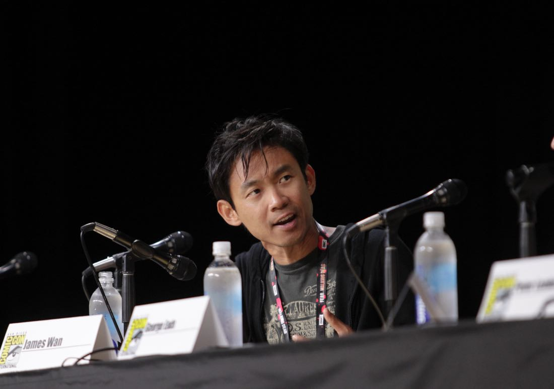James Wan, Executive Producer of the CBS series MACGYVER during the panel discussion at COMIC-CON® 2016 in San Diego, California. Photo: Francis Specker/CBS ©2016 CBS Broadcasting, Inc. All Rights Reserved